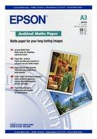 Epson Archival Matte Paper A3, 50 listů