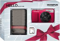 Olympus VG-170 červený + 2GB karta + originální pouzdro zdarma!