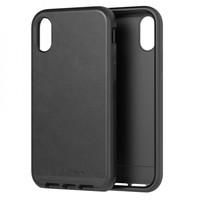 Tech21 pouzdro Evo Luxe pro iPhone XS Max kožené černé