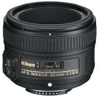 Nikon 50mm f/1,8 AF-S NIKKOR G