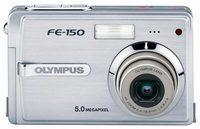 Olympus FE-150 +xD 256 MB + extra akumulátor + kožené pouzdro