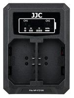 JJC duální USB nabíječka pro akumulátor 2× Sony NP-FZ100