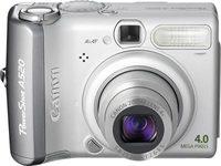 Canon PowerShot A520 + SD 512 MB karta + zoner 8