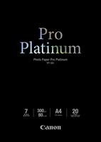 Canon fotopapír PT-101 Pro Platinum (A4)