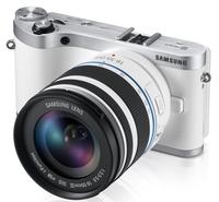 Samsung NX300 + 18-55 mm III OIS i-Function bílý + NX 30 mm!