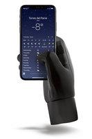 Mujjo dvouvrstvé dotykové rukavice, velikost L černé