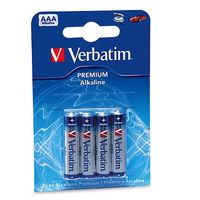 Verbatim alkalické mikrotužkové baterie R03, AAA, 4ks