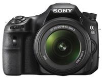 Sony Alpha A58 + 18-55 mm II + Sigma 70-300 mm Macro!