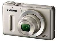 Canon PowerShot S100 stříbrný + 16GB karta + pouzdro 60H + čistící utěrka!