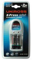 Uniros X-Press Mini + 2x AA 2100 mAh