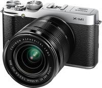 Fujifilm X-M1 tělo stříbrný + 18mm