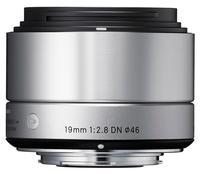 Sigma 19mm f/2,8 DN Art pro Sony E stříbrný