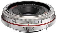 Pentax HD DA 40mm f/2,8 Limited stříbrný