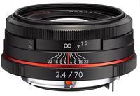 Pentax HD DA 70mm f/2,4 Limited černý