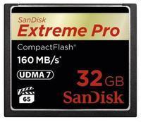 SanDisk 32GB CF EXTREME PRO UDMA7 160 MB/s