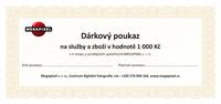 Dárkový poukaz v hodnotě 1 000 Kč