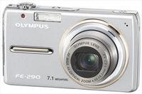 Olympus FE-290 stříbrný + baterie + poutko + pouzdro!