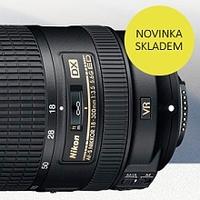 Nový univerzální objektiv Nikon 18-300mm f/3,5-6,3 AF-S DX G ED VR II skladem