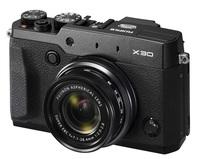 Fujifilm Finepix X30 černý + 16GB Ultra + akumulátor + sluneční clona!
