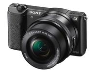 Sony Alpha A5100 + 16-50 mm černý + 16GB karta + brašna Wizz 8!