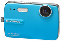 Olympus Mju 550 WP modrý