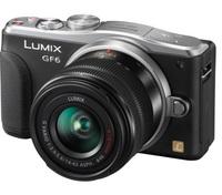 Panasonic Lumix DMC-GF6 + 14-42 mm II R + 40-150 mm R černý + 8GB karta + brašna 110 + utěrka!