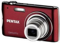 Pentax Optio P70 červený