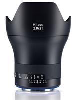 Zeiss Milvus 21mm f/2,8 ZE pro Canon