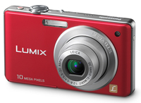 Panasonic Lumix DMC-FS62 červený