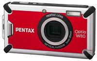 Pentax Optio W80 červený