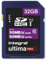 Integral SDHC 32gb Ultima Pro X Class 10