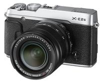 Fujifilm X-E2s + 18-55 mm stříbrný + 32GB karta + brašna Oslo 14Z + čisticí utěrka!