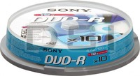 Sony DVD-R 4,7GB 10ks