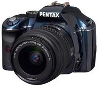 Pentax K-x modrý + 18-55 mm