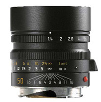 Leica 50mm f/1,4 ASPH SUMMILUX-M černý