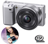 Sony NEX-5 stříbrný + 18-55 mm