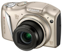 Canon PowerShot SX130 IS stříbrný