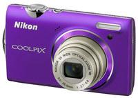 Nikon CoolPix S5100 fialový