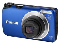 Canon PowerShot A3300 IS modrý