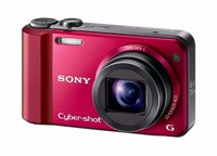 Sony CyberShot DSC-H70 červený