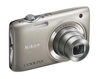 Nikon Coolpix S3100 stříbrný + pouzdro 60G zdarma!