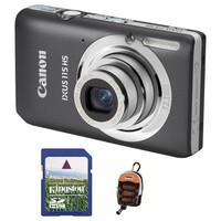 Canon IXUS 115 HS šedý + 4GB karta + pouzdro DF11 zdarma!