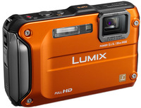 Panasonic Lumix DMC-FT3 oranžový