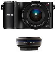 Samsung NX200 + 18-55 mm OIS + 30 mm OIS !