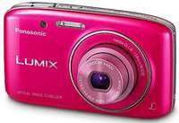 Panasonic Lumix DMC-S2 růžový