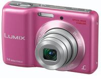 Panasonic Lumix DMC-LS6 růžový