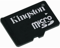 Kingston Micro SD 2 GB + adaptér SD