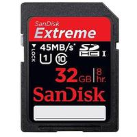 SanDisk SDHC 32GB EXTREME 45 MB/s