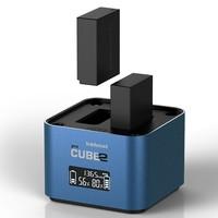 Hahnel univerzální nabíječka Pro CUBE2 pro Fujifilm a Panasonic