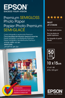 Epson Premium Semigloss Photo Paper 10x15, 50 listů